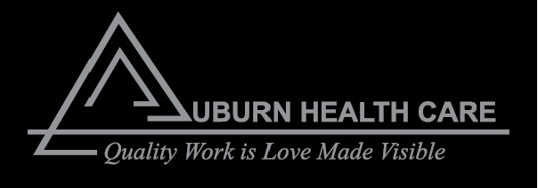 Auburn Health Care Black Logo